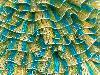 Samba Желтый Бирюзовый Серебро Зеленый